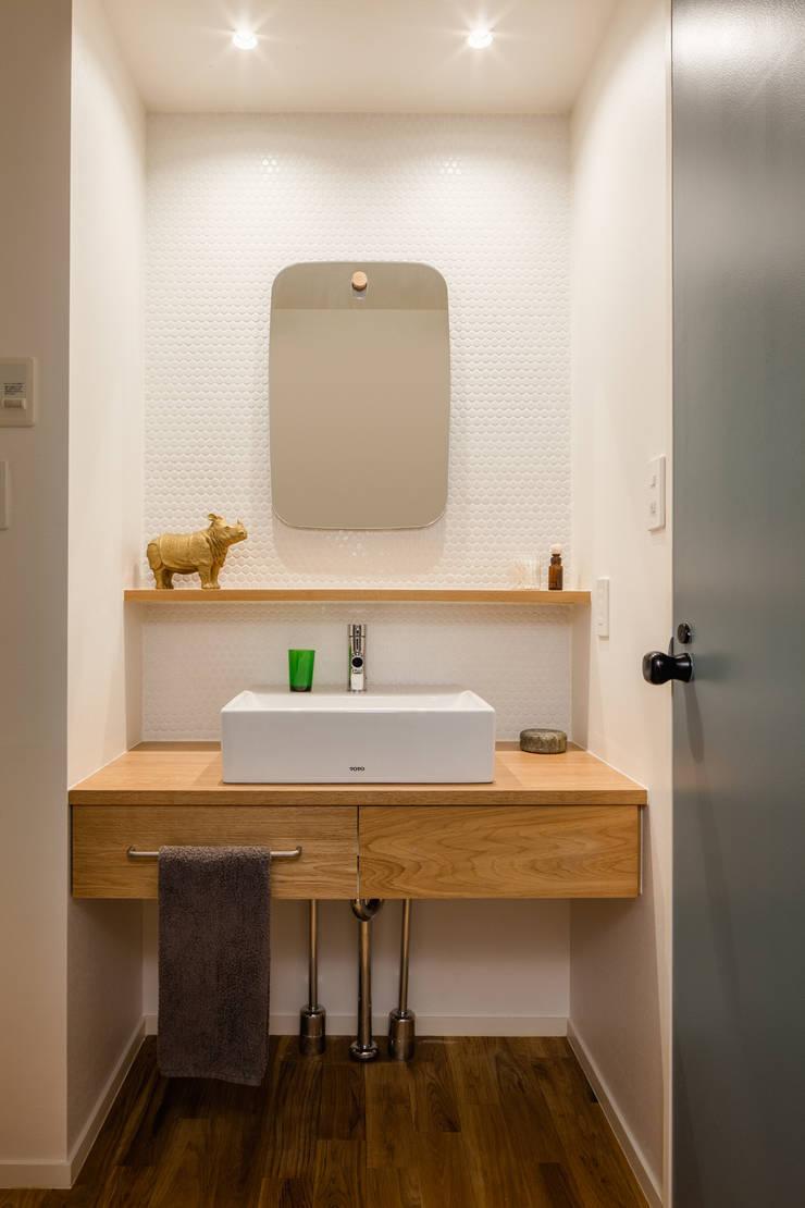 渋谷区の住宅: sorama me Inc.が手掛けた浴室です。