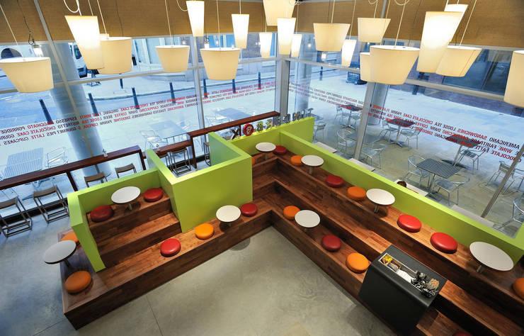 Tinderbox - Spitalfields - 3:  Gastronomy by Jonathan Clark Architects
