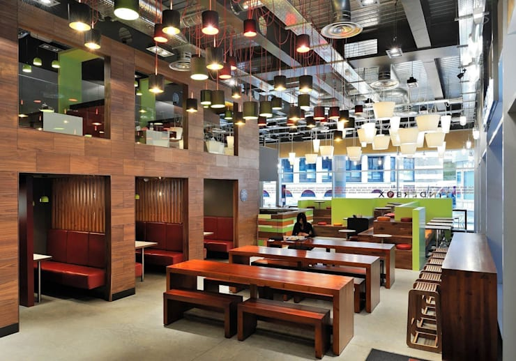Tinderbox - Spitalfields - 6:  Gastronomy by Jonathan Clark Architects