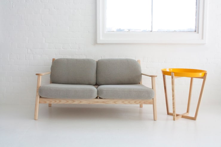 Oscar:  Living room by And Then Design Limited