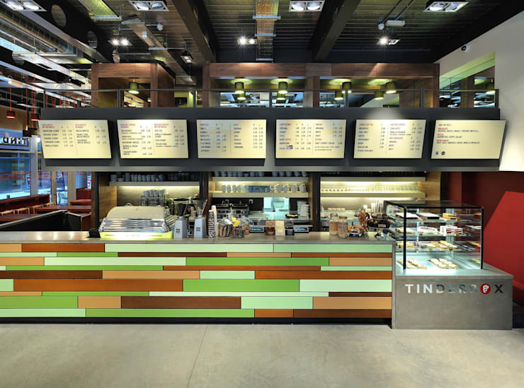 Tinderbox - Spitalfields - 7:  Gastronomy by Jonathan Clark Architects