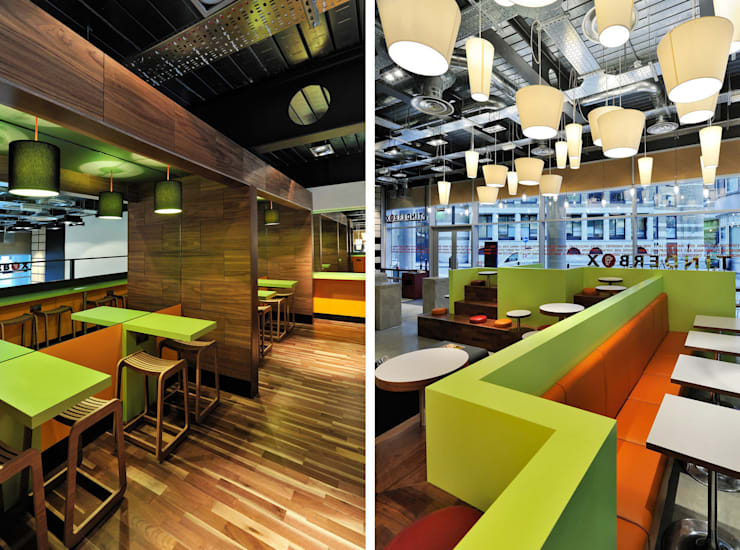 Tinderbox - Spitalfields - 9:  Gastronomy by Jonathan Clark Architects