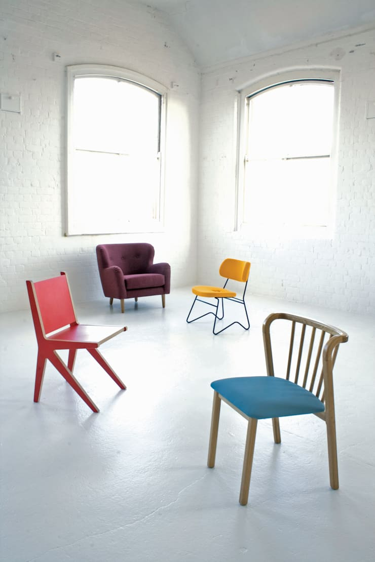 Chair Collection:  Dining room by And Then Design Limited