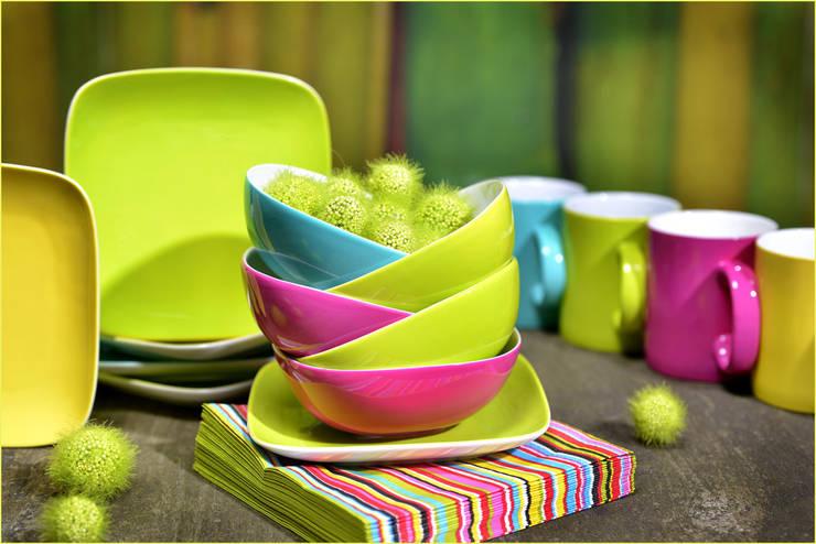Bowl square:  Eetkamer door Groothandel in decoratie en lifestyle artikelen