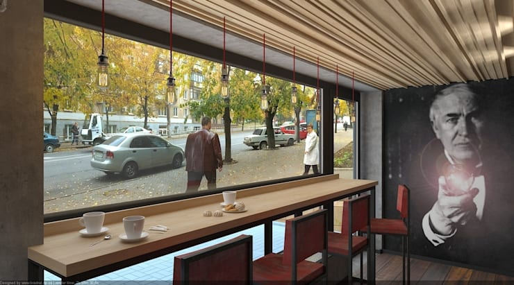 Ресторации в . Автор – дизайн-студия 'КВАДРАТ'