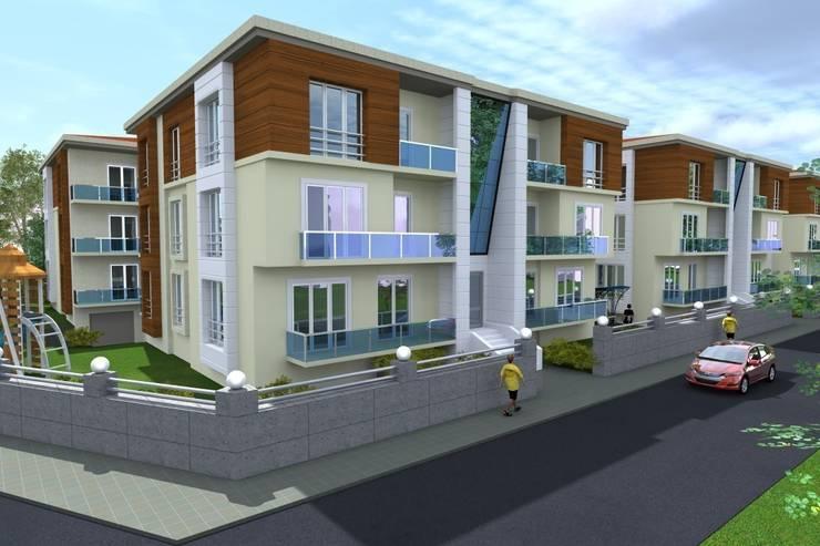 PORTAKAL MİMARLIK MÜHENDİSLİK İNŞAAT RÖLÖVE VE RESTORASYON – Site Projesi:  tarz Evler