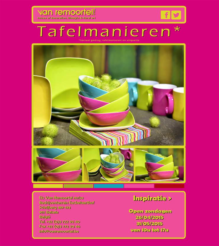 nieuwsbrief Opendeur Zondagen:  Eetkamer door Groothandel in decoratie en lifestyle artikelen