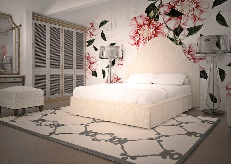 Спальная в стиле винтаж: Спальни в . Автор – Инна Меньшикова