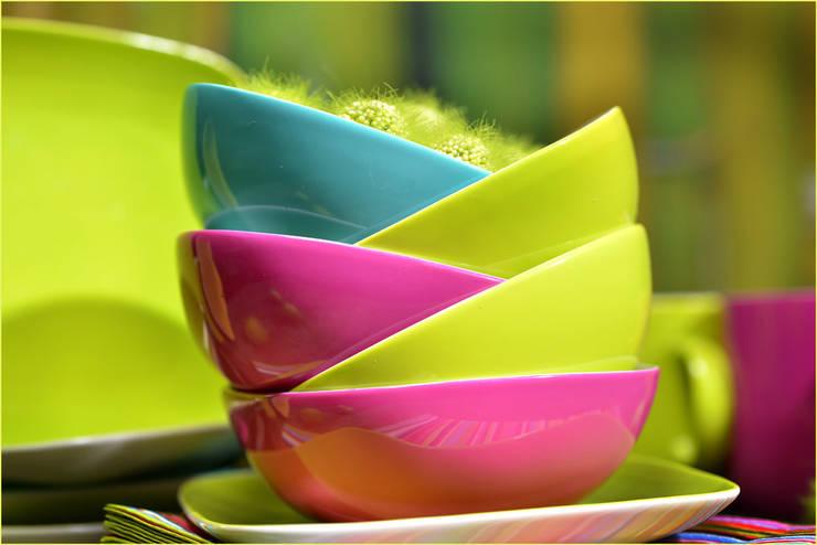 Projekty,  Jadalnia zaprojektowane przez Groothandel in decoratie en lifestyle artikelen