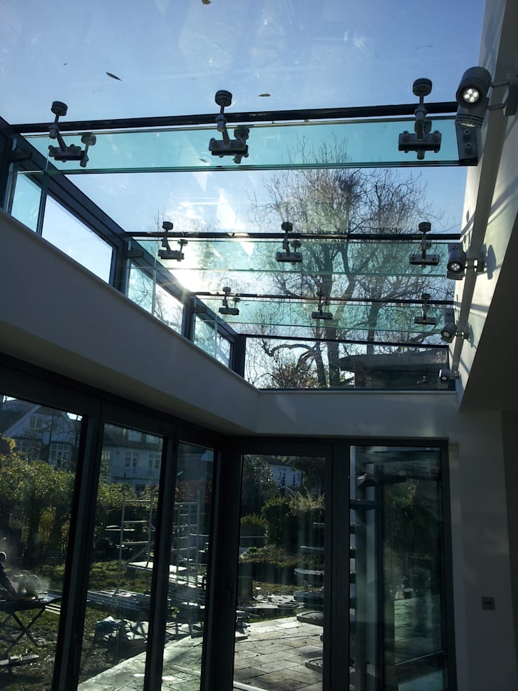 Glass Extension:  Terrace by MDM GLASS LTD