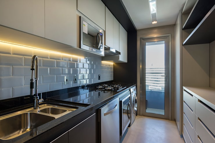 Cocinas de estilo  por Studiodwg Arquitetura e Interiores Ltda.