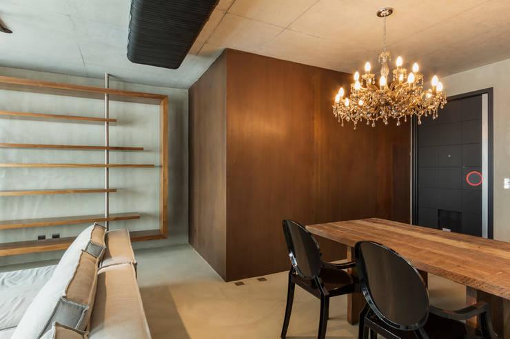 Ruang Makan oleh Studiodwg Arquitetura e Interiores Ltda. , Modern