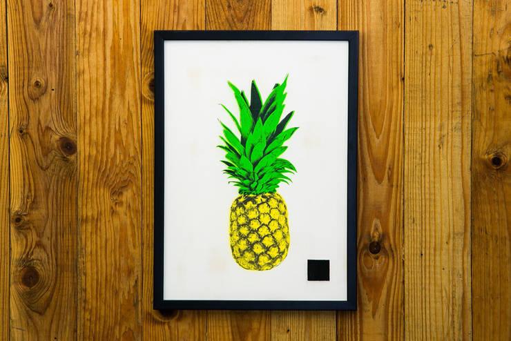 PINEAPPLE SERIES #01:  Kunst  von I Print Pineapples