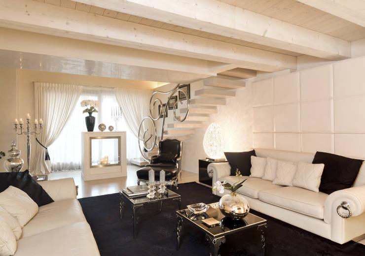 Projekty,  Salon zaprojektowane przez STUDIO CERON & CERON