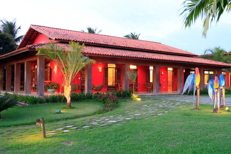 Terrazas de estilo  por Andréa Calabria Arquitetura