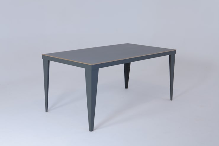 Linoleum table:  Dining room by wemaketables