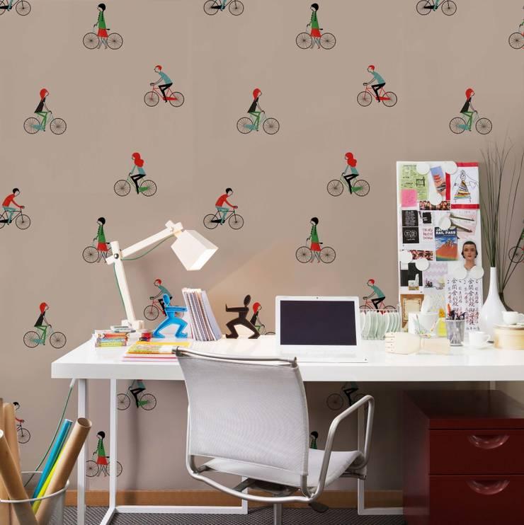 Cosas Minimas Wallpaper  ref 2300063:  Walls & flooring by Paper Moon