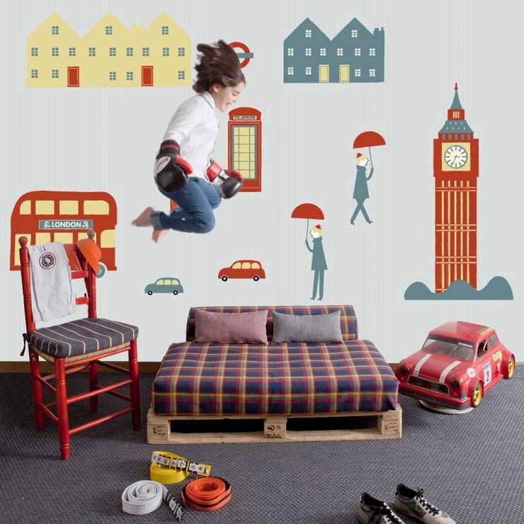 Cosas Minimas Mural ref 2300101:  Walls & flooring by Paper Moon
