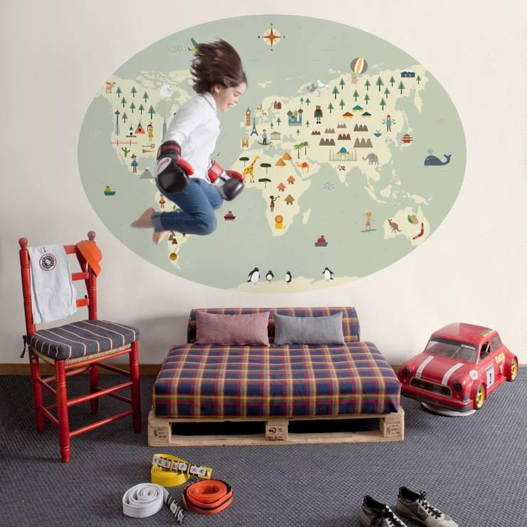 Cosas Minimas Mural ref 2300104:  Walls & flooring by Paper Moon