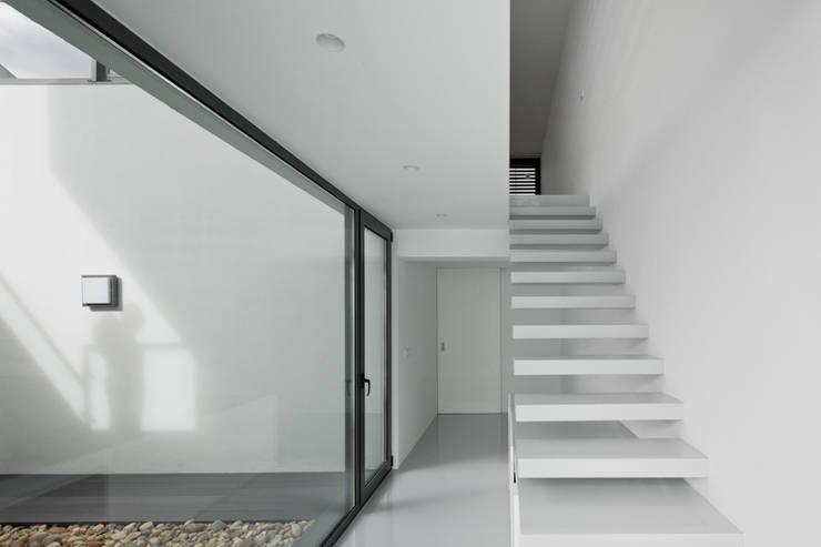 Escalera: Pasillos y vestíbulos de estilo  de OKULTUS