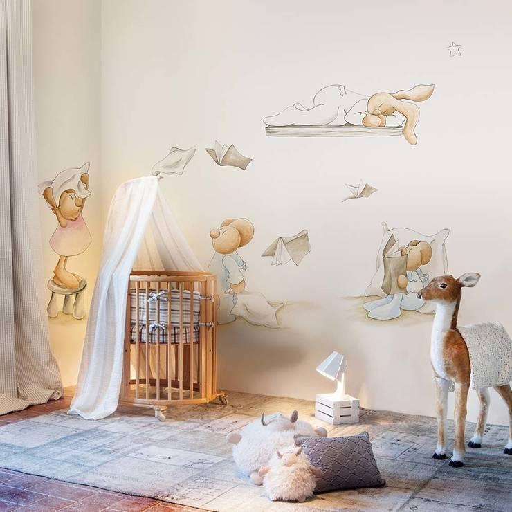 Pilar Burguet Mural ref 3400075:  Walls & flooring by Paper Moon