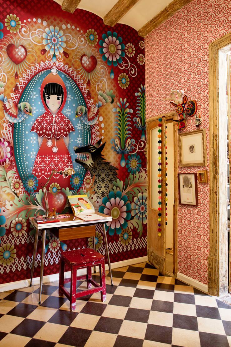 Catalina Estrada Mural ref 1280205:  Walls & flooring by Paper Moon