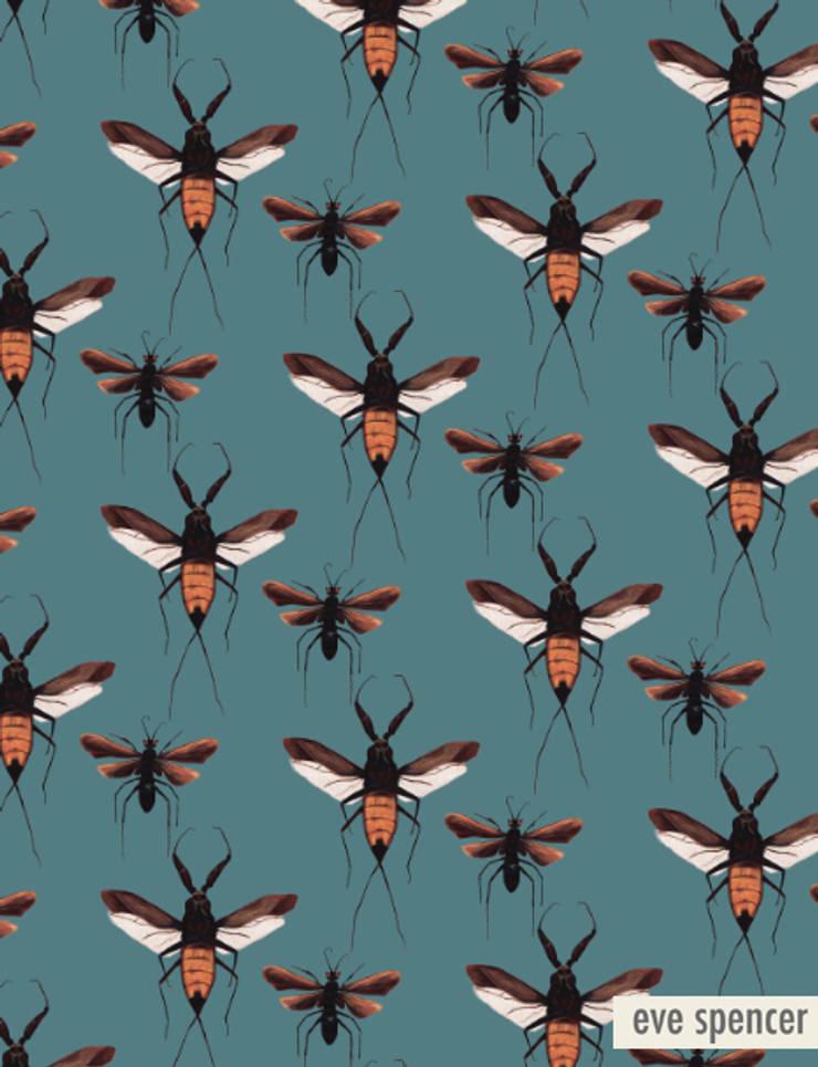 Scorpion Hawk:  Walls & flooring by eve spencer