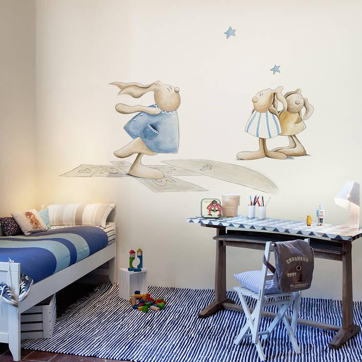 Pilar Burguet Mural ref 3400070:  Walls & flooring by Paper Moon