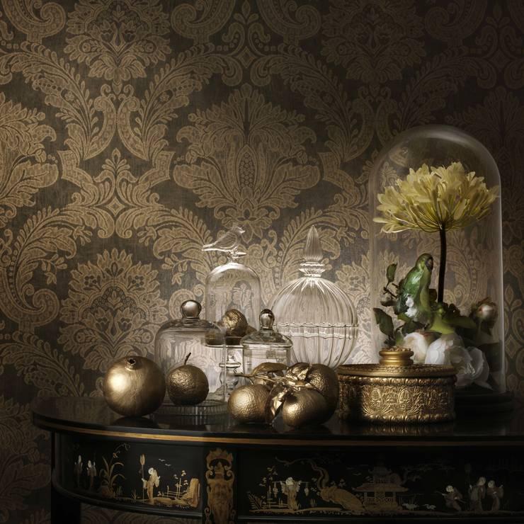Quod II Wallpaper ref 250 C04:  Walls & flooring by Paper Moon