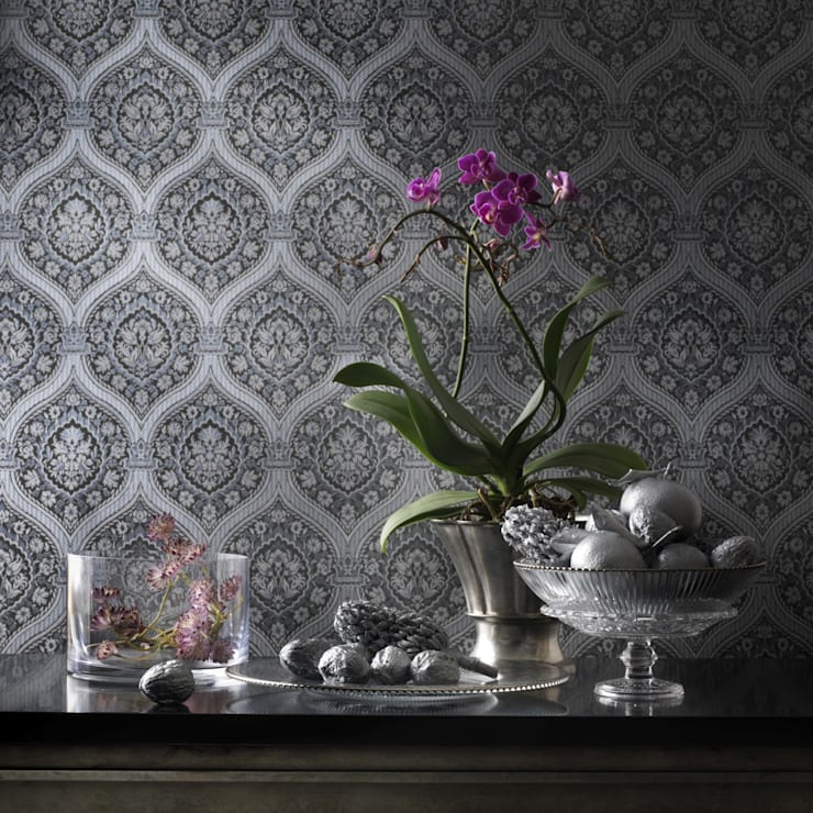 Quod II Wallpaper ref 252 C03:  Walls & flooring by Paper Moon