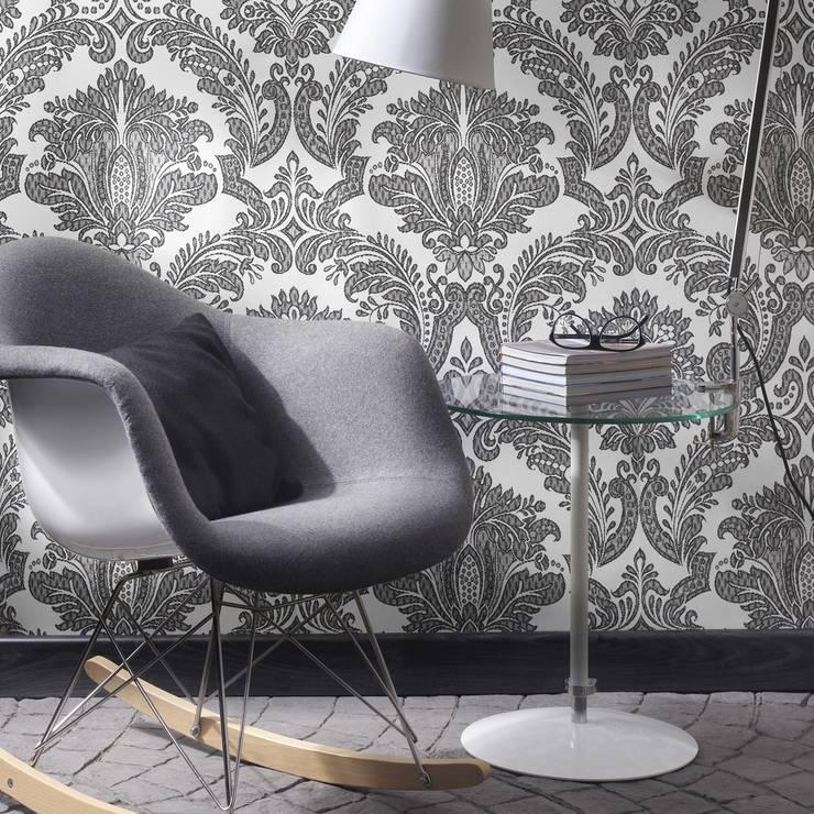 Quod II Wallpaper ref 250 C03:  Walls & flooring by Paper Moon