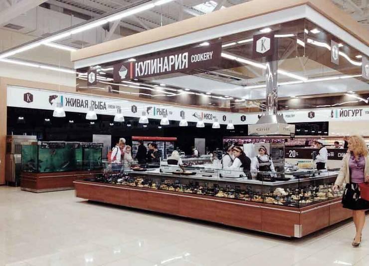 Supermarket <q>Class</q>.:  в современный. Автор – APRIL DESIGN, Модерн