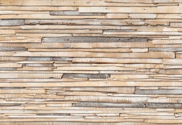 Whitewashed Wood Mural ref 8-920:  Walls & flooring by Paper Moon