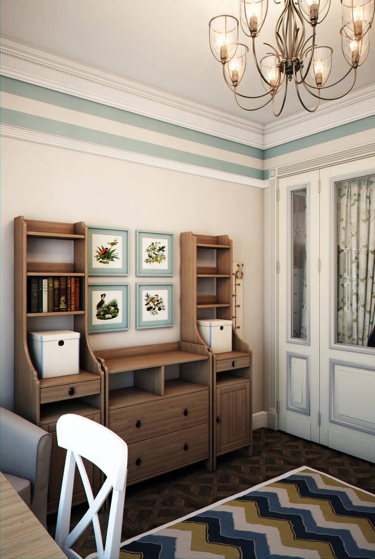 Phòng trẻ em phong cách chiết trung bởi Marina Sarkisyan Chiết trung