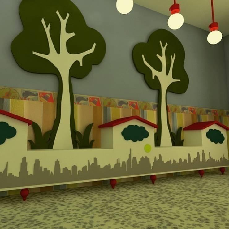 Marttasarım iç mimarlık proje uygulama  – ANAOKULU PROJESİ :  tarz Okullar