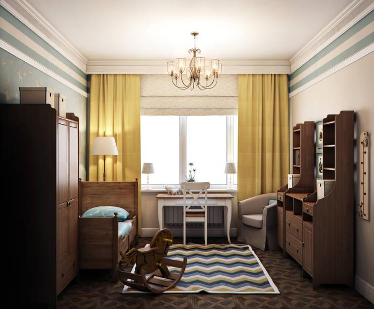 Ваниль,лимон и аромат магнолий: Детские комнаты в . Автор – Marina Sarkisyan