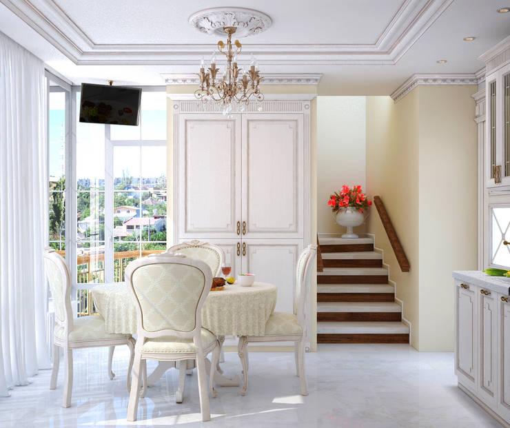 Классика в интерьере: Гостиная в . Автор – Студия дизайна Interior Design IDEAS