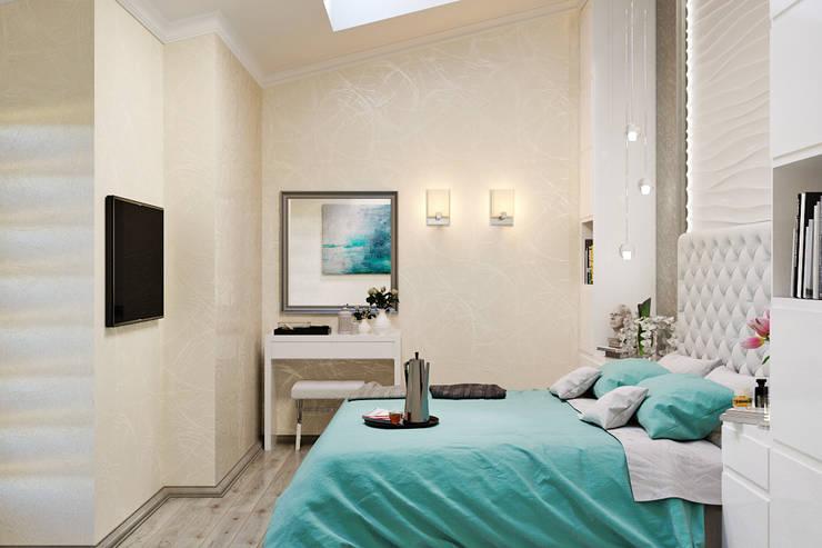 Современный стиль в интерьере : Спальни в . Автор – Студия дизайна Interior Design IDEAS