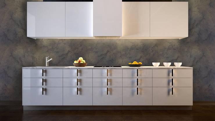 Rust Style \ Gold: Pareti & Pavimenti in stile in stile Moderno di SPIVER - ARTHE Decorative Line