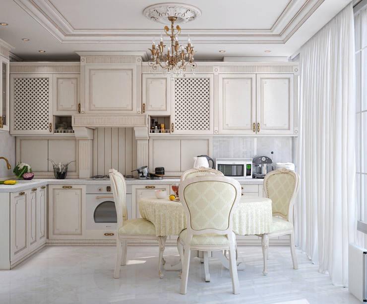 Классика в интерьере: Кухни в . Автор – Студия дизайна Interior Design IDEAS