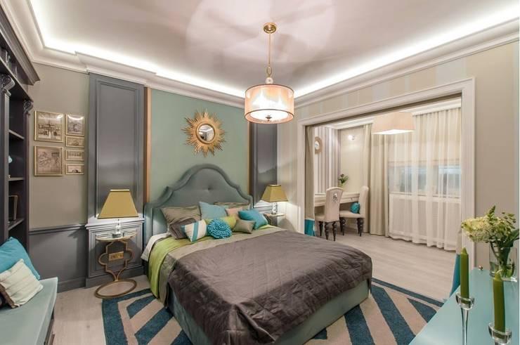 Chambre de style  par Tony House Interior Design & Decoration, Classique