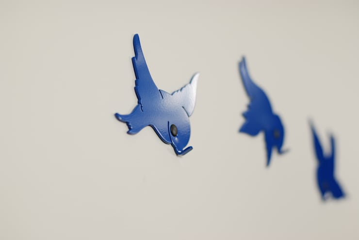 Wieszak Ptaki 1: styl , w kategorii  zaprojektowany przez Longart