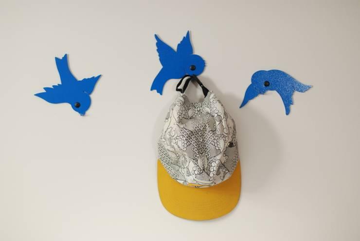 wieszak Ptaki 2: styl , w kategorii Pokój dziecięcy zaprojektowany przez Longart