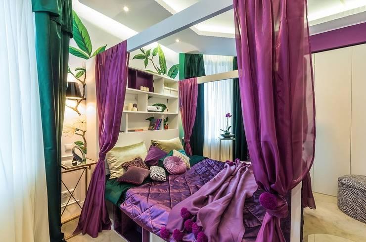 Recámaras de estilo  por Tony House Interior Design & Decoration