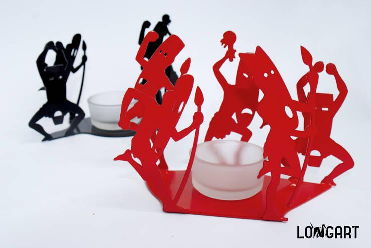 Świecznik <q>Dzicy</q>: styl , w kategorii Salon zaprojektowany przez Longart