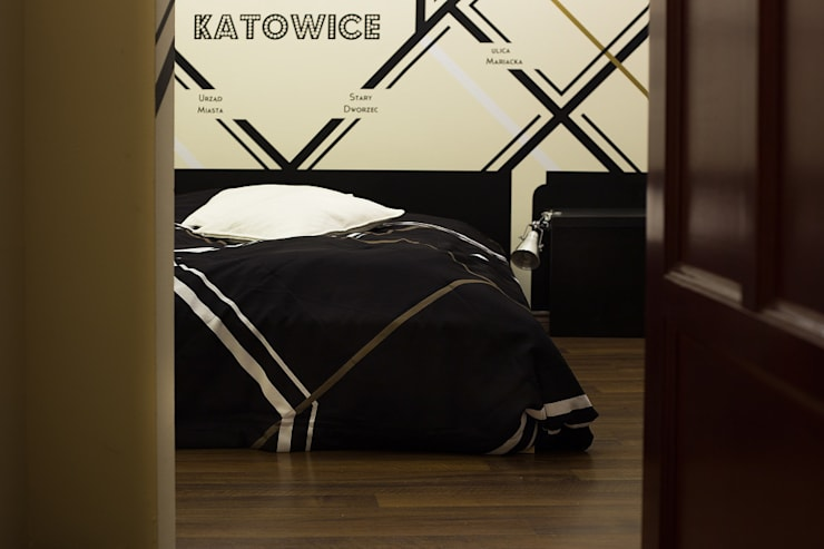Pokój w Boutique Hoste Patria - Katografika: styl , w kategorii Sypialnia zaprojektowany przez musk collective design