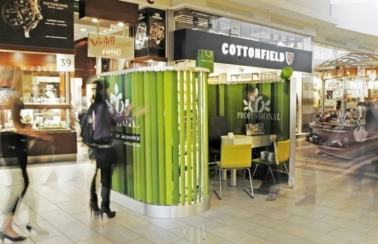 Stoisko firmowe Professional: styl , w kategorii Pomieszczenia biurowe i magazynowe zaprojektowany przez musk collective design