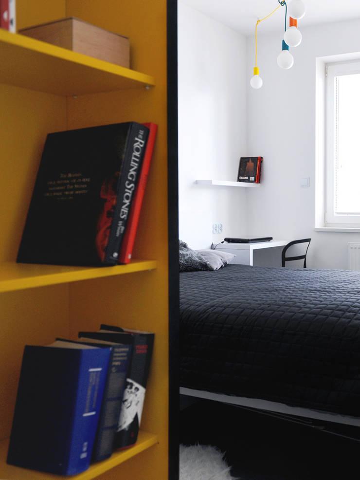 Mieszkanie Bażantowo: styl , w kategorii Sypialnia zaprojektowany przez musk collective design,Minimalistyczny
