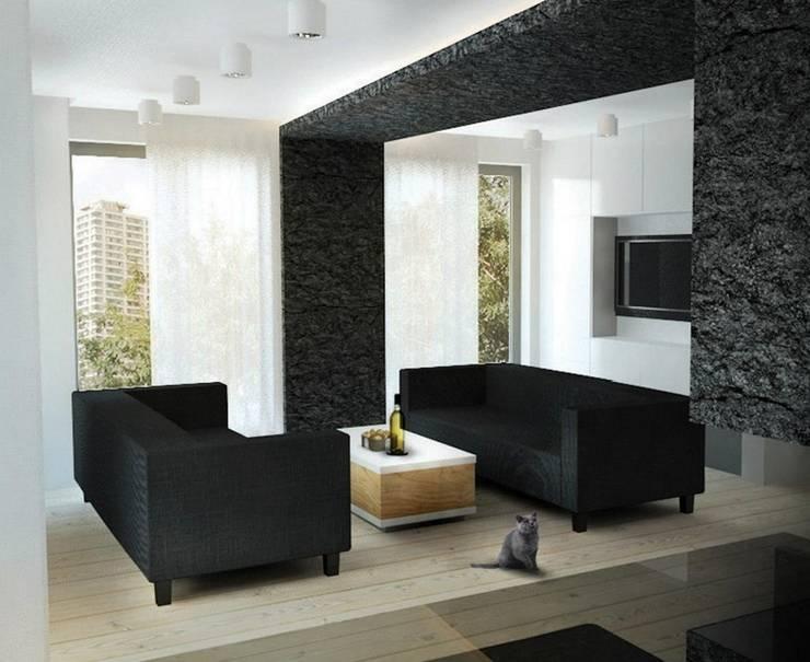 M24: styl , w kategorii Salon zaprojektowany przez musk collective design