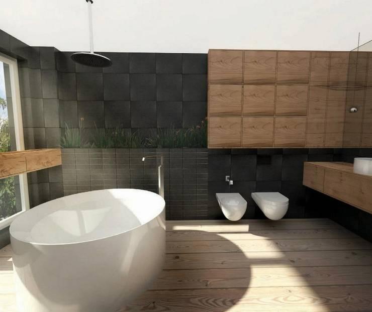 M24: styl , w kategorii Łazienka zaprojektowany przez musk collective design